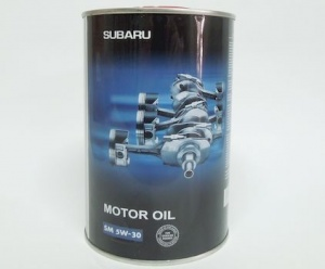 06009 Subaru Motor oil 5W-30 by CHEMPIOIL 5W30 metal 1 л. (SOA868V9280)  магазин